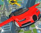 Uçan Spor Araba Sürme