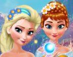 Elsa ve Anna Makyaj