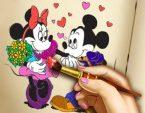 Miki Mouse Boyama