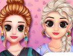 Elsa Tişört Giydirme
