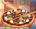 Cikolatalı Pizza